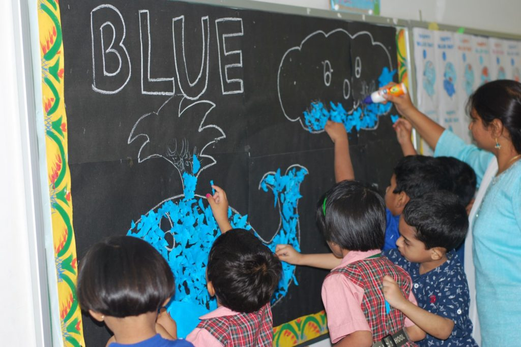 Blue Day Celebrations LKG