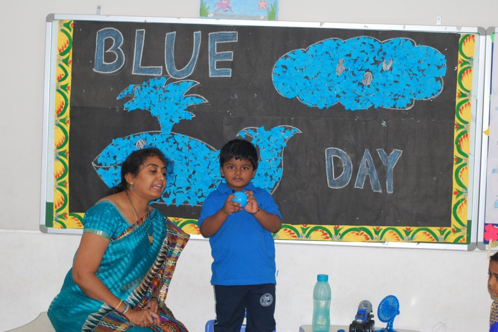 Blue Day Celebrations LKG (4)
