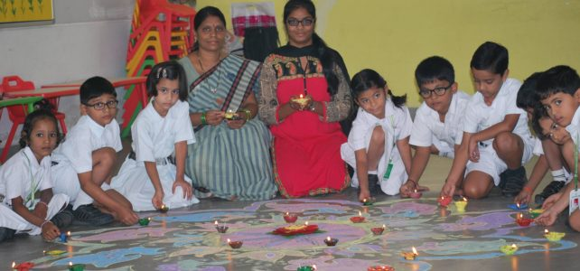 DIWALI celebrations at DPS Warangal