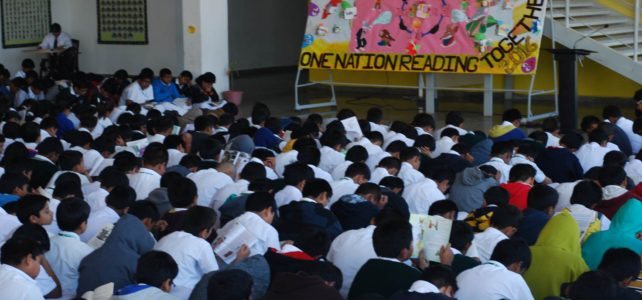 """ONE NATION READING TOGETHER"""