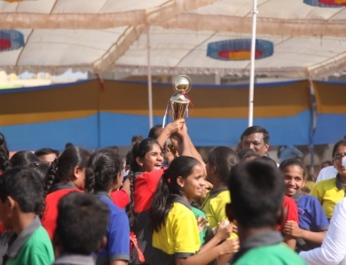 STUDENT WON FIRST PRIZE at NATIONAL LEVEL DANCE COMPETITION